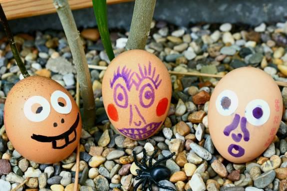 Naughty eggs - Nigel Robson